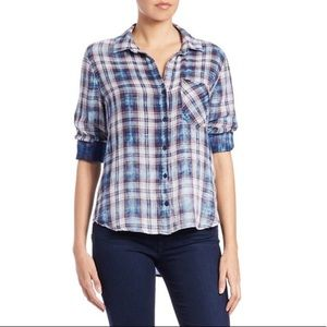 Cloth and Stone Plaid Shirt Size XS